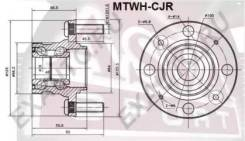 Ступица колеса задняя Mtwhcjr (ASVA — КНР)