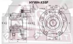 Ступица колеса передняя Hywhx55F (ASVA — КНР)