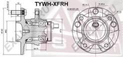 Ступица колеса передняя правая Tywhxfrh (ASVA — КНР)