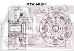 Ступица колеса передняя Mtwhkb4F (ASVA — КНР)
