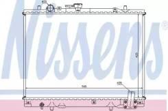Радиатор охлаждения двигателя 62892 (Nissens — Дания)