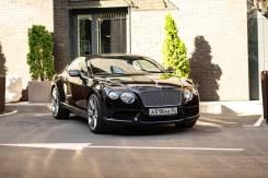 Аренда Bentley Continental GT II Restyling 2015 Черный автомат