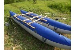 Баллоны (гондолы) катамарана Валдай-6, двухслойные, 2 шт, 6 метров