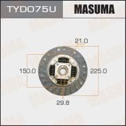 Диск сцепления [225 мм] TYD075U (Masuma — Япония)