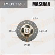 Диск сцепления [236 мм] TYD112U (Masuma — Япония)