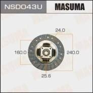 Диск сцепления [240 мм] NSD043U (Masuma — Япония)