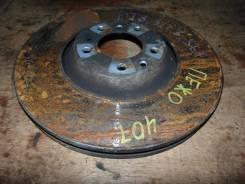 Тормозной диск Peugeot 407 2006 [424943] 6D EW12J4, передний