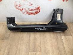 Кузов - порог (обрезок) Fiat Albea 2005-2011, левый