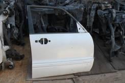 Дверь Mitsubishi Pajero 2003 V75W 6G74, передняя правая