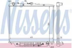 Радиатор охлаждения двигателя 60852 (Nissens — Дания)