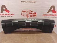 Спойлер (накладка) бампера заднего Geely Emgrand X7 2013-Н. в. [1018058016]