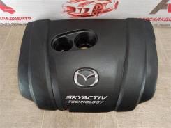 Накладка - декоративная крышка двигателя Mazda Cx-5 (2011-2017) [PE11102F0]