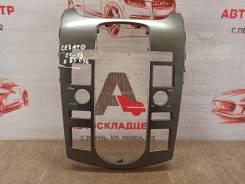 Торпедо - передняя панель салона, накладка Kia Cerato (2008-2013) 2012 [487411M400] G4FC (1600CC)
