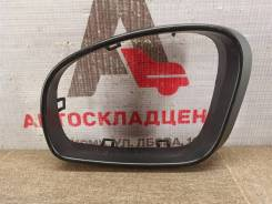 Зеркало левое - рамка (окантовка) Skoda Fabia (2006-2015) [5J08575319B9]