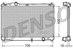 Радиатор охлаждения двигателя DRM51008 (Denso — Япония)