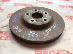 Тормозной диск Toyota Carina Ed [4351220580] ST202, передний