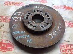 Тормозной диск Toyota Aristo [4351250112] JZS161, передний