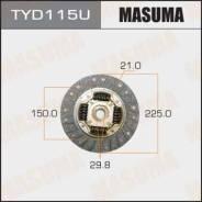 Диск сцепления [225 мм] TYD115U (Masuma — Япония)