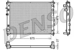 Радиатор охлаждения двигателя DRM36012 (Denso — Япония)