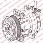 Компрессор кондиционера TSP0155953 (Delphi — США)
