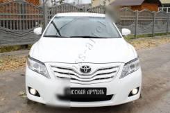 Реснички на фары под покраску для Toyota Camry (2009-2011)