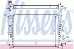 Радиатор охлаждения двигателя 62217A (Nissens — Дания)