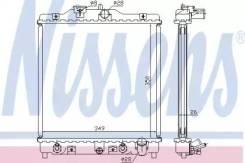 Радиатор охлаждения двигателя 633081 (Nissens — Дания)