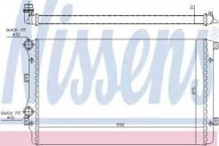 Радиатор охлаждения двигателя 65280A (Nissens — Дания)