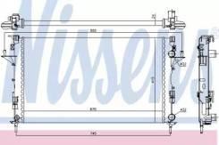 Радиатор охлаждения двигателя 63813 (Nissens — Дания)