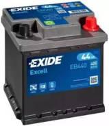 Аккумуляторная батарея Excell [12V 44Ah 400A B13] EB440 (Exide — США)