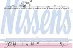 Радиатор охлаждения двигателя 64197 (Nissens — Дания)