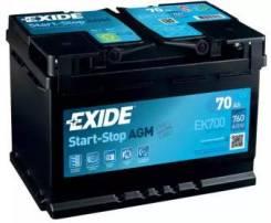 Аккумуляторная батарея Micro-Hybrid AGM NEW! [12V 70Ah 760A B13]