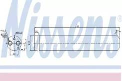 Осушитель кондиционера 95452 (Nissens — Дания)