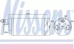 Осушитель кондиционера 95341 (Nissens — Дания)