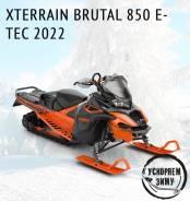 Ускоряем зиму. BRP Lynx Brutal 850 E-Tec, 2021