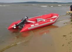 Продам надувную лодку Brig B380 и прицеп с документами