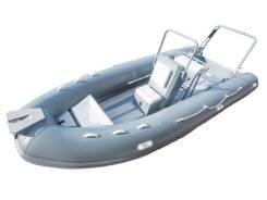 Лодка моторная RIB Gladiator 590AL_B со встроенной консолью