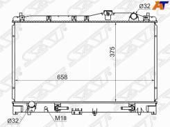 Радиатор Honda Inspire / Saber / Ascot / Rafaga / Acura TL 2.0 / 2.5 9
