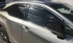 Дефлекторы окон нержавейка Lexus RX 4