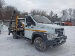 Бункеровоз мусоровоз 67060В-53 на шасси ГАЗ-С41R13 б/у (2018 г. 83759 км.)