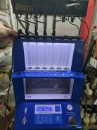 Проверка промывкa топливных инжекторов форсунок на стенде FSI GDI TSI