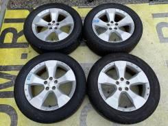 Комплект колес в сборе 225/55R17 на оригинальном литье Subaru 5*100