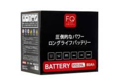 Аккумулятор Fujito Quality 95D26L, 80 а/ч, пусковой ток 680 А