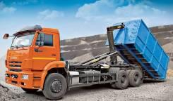 Вывоз строительного мусора мультилифтом 27 м/куб. Воронеж