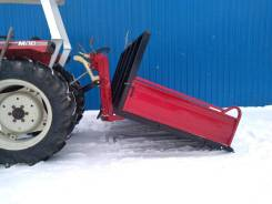 Кузовок для мини-трактора 1,8м. с плужком