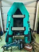 Лодка надувная орион + мотор ветерок