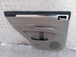 Обшивка двери Mitsubishi Pajero Sport 2013 KH0 2.5 4D56U, задняя левая