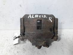 Суппорт тормозной Nissan Almera 2000-2006 [410014M510] N16, передний правый