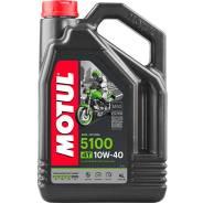 Моторное масло для мотоциклов Motul 5100 4T 10W40 4л. Motul