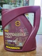 Mannol Motorbike 4-takt 10w40 4 литра